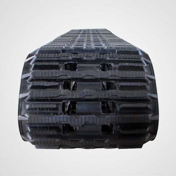 BV206 rubber tracks - aggressive type