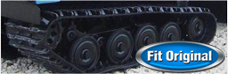bv206 rubber tracks - 100% fit original undercarriage parts